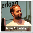 Mike Subelsky, co-founder of the web startup OtherInbox.com, and the co-organizer of Ignite Baltimore